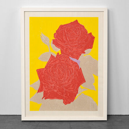 Gary Hume, 'Two Roses', 2009