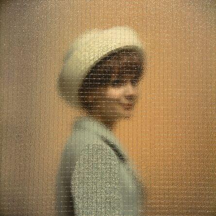 CLAIRE AHO, 'Woman Behind Glass / Clary von Platen', 1958