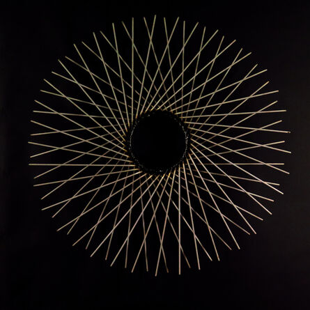 Eric Hado, 'Moire Circles', 2017