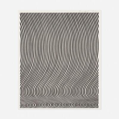 Bridget Riley, 'Untitled (Richard Feigen Gallery)', c. 1960