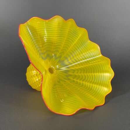Dale Chihuly, 'Dale Chihuly Buttercup Persian Signed Handblown Glass Contemporary Sculpture', 1996