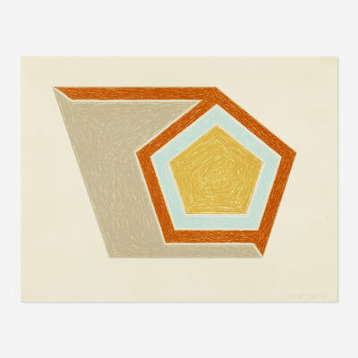 Frank Stella, 'Ossipee (from the Eccentric Polygons series)', 1974