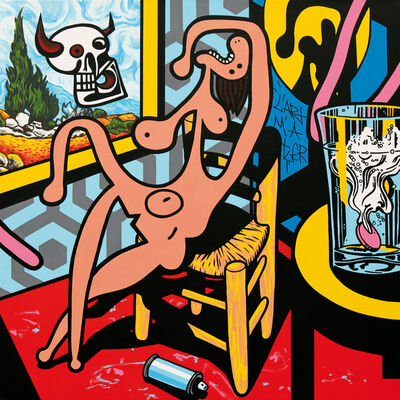Speedy Graphito, 'La Mort de la Peinture', 2016