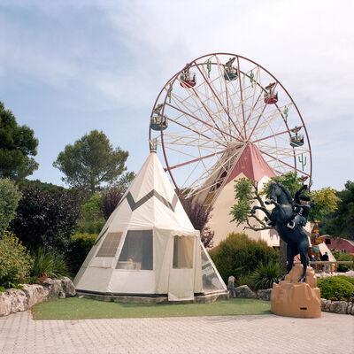 Naomi Harris, 'Tipi with Ferris Wheel, OK Corral, Cuges Les Pins, France', 2014