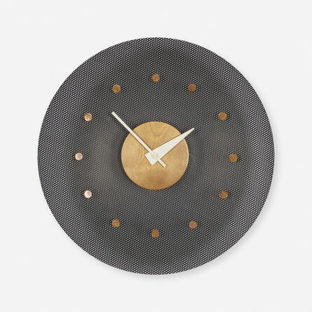 George Nelson & Associates, 'wall clock, model 2203', 1952-53