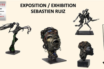 Sebastien Ruiz Sculpture's exhibition