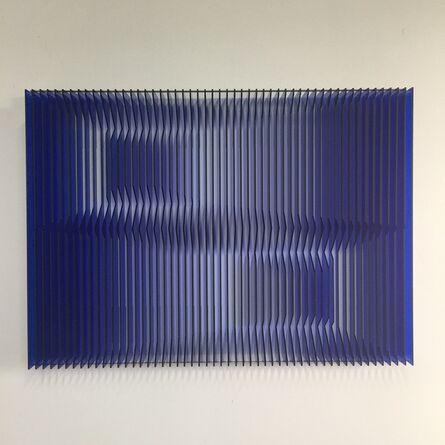 J. Margulis, 'Cross perspectives Blue', 2016