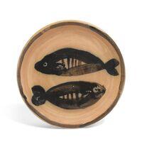 Pablo Picasso, 'Deux poissons', 1881-1973