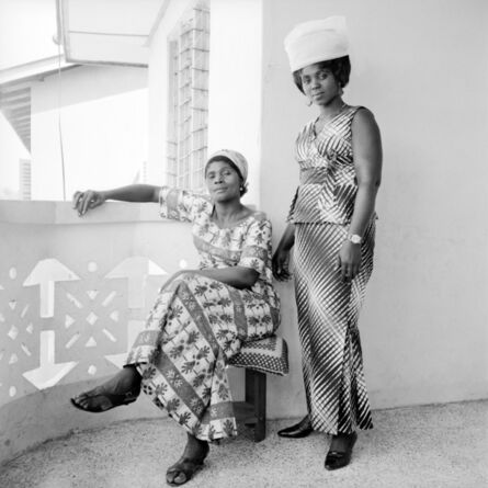 James Barnor, 'Two Sisters-in-Law', 1973