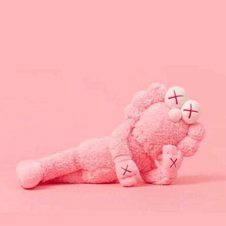 KAWS, 'BFF Plush (Pink)', 2019
