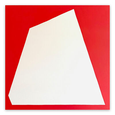 Ulla Pedersen, 'Untitled White 2009 (Abstract painting)', 2020