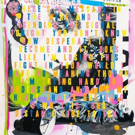 Stuart Semple, 'MESSAGE IN THE WIRE', 2015
