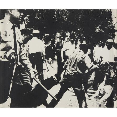 Andy Warhol, 'Birmingham Race Riot from X + X (Ten Works by Ten Painters)', 1964