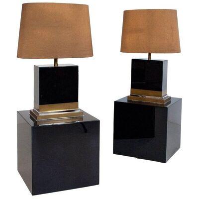 Jean-Claude Mahey, 'Paire de lampes', vers 1970