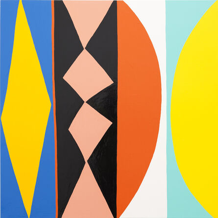 Kim MacConnel, '7 Rabbit', 2011