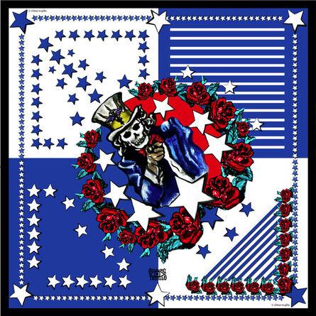 Chloe Trujillo, 'America (Blue)'
