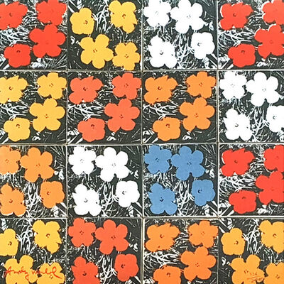 Andy Warhol, 'Flowers', 1986