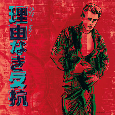 Andy Warhol, 'Rebel Without A Cause (James Dean) F&S II.355', 1985