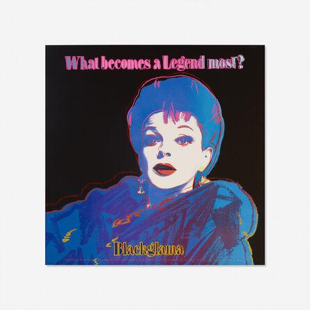 Andy Warhol, 'Blackglama (Judy Garland) from the Ads portfolio', 1985