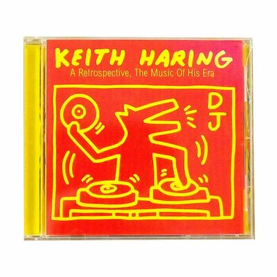 Keith Haring, 'A RETROSPECTIVE THE MUSIC OF HIS ERA (CD)', 1997