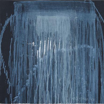 Pat Steir, 'Waterfall Blue', 1997