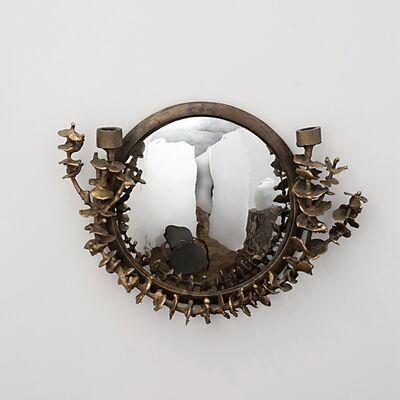 """Michel Salerno, '""""Au Fond des Yeux,"""" Handmade Mirror', 2014"""
