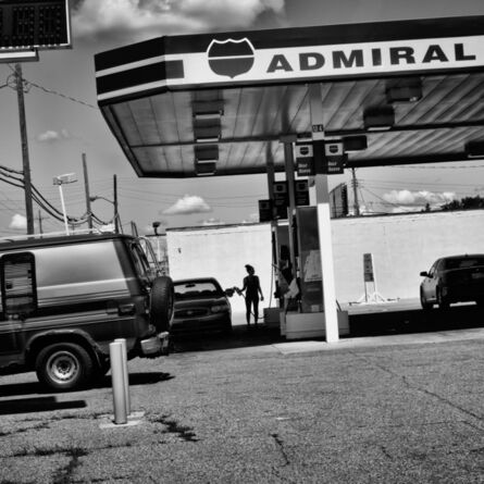 Matt Black, 'Gas station, Flint, Michigan, 2015', 2015