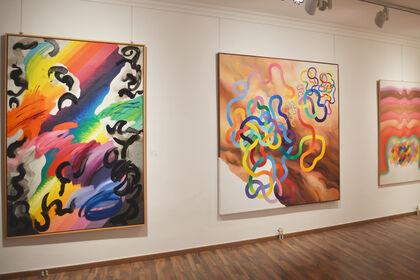 Exhibition of Anna Beöthy-Steiner, Vera Braun, Ilona Keserü and Judit Reigl