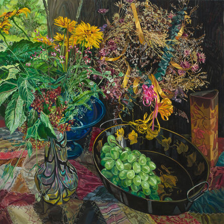 Janet Fish, 'Wreath', 2002