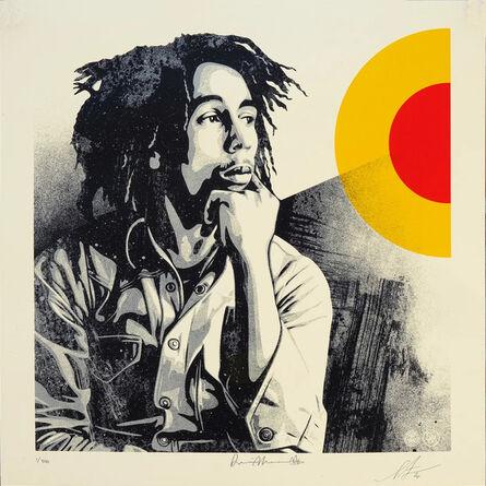 Shepard Fairey, 'Bob Marley - Sun is Shining', 2020