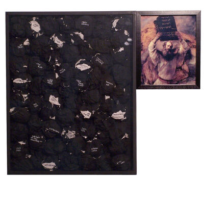Benni Efrat, 'Rembrandt', 1974