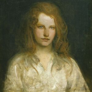 Abbott Handerson Thayer, 'Margaret MacKittrick', ca. 1903