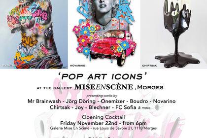 'POP ART ICONS' AT MISE EN SCENE, MORGES