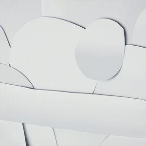 Ramsey Dau, 'Untitled (White on White Collage 1)', 2015