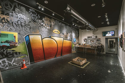 Streets to Gallery - an exhibition by LOVE Crew