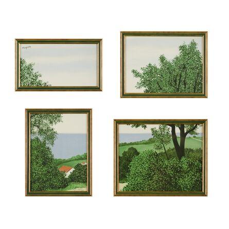 René Magritte, 'Profondeurs de la Terre ou Paysage', 2004