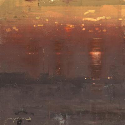 Jeremy Mann, 'Cityscape - Composed Form Study No. 17'