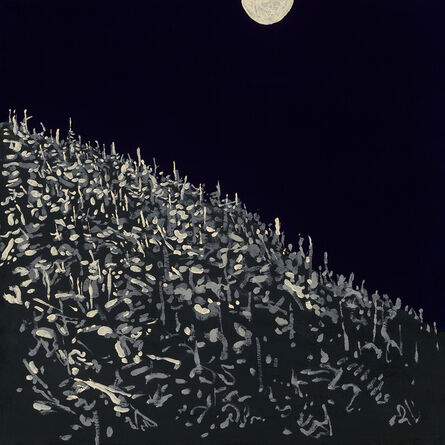 Titus Welliver, 'Sam's Moon', 2019