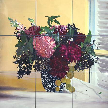 Hernán Salamanco, 'Flores para Sebastían', 2014