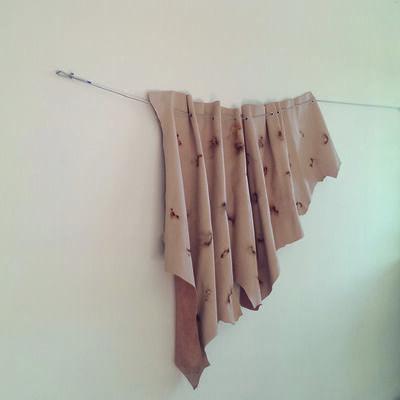 Graziano Folata, 'Naked forest eyes close', 2014