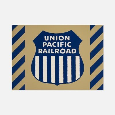 Robert Cottingham, 'Union Pacific Railraod, Unique Panel from the Union Train Station Installation in Hartford, Conn., 1987', 1987