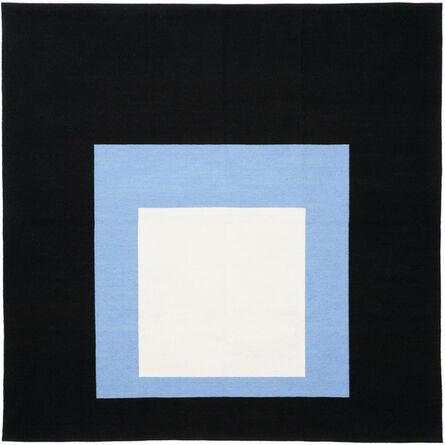 Josef Albers, 'Homage to the Square Tapestry (Black Setting)', 2018