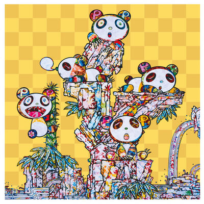 Takashi Murakami, 'Child panda child panda', 2020