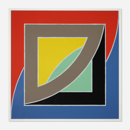 Frank Stella, 'River of Ponds III (from the Newfoundland series)', 1971