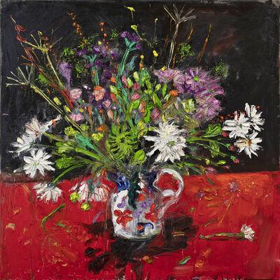 Shani Rhys James, 'Flowers in a Gaudy Jug', 2021