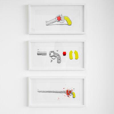 Mauricio Esquivel, 'S/T De la Serie Eraser Home Set', 2012