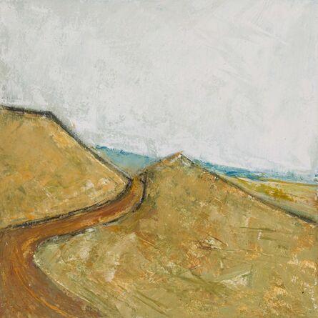 Margot Voorhies Thompson, 'Desert Poem, The Road Taken, Paisley', 2017