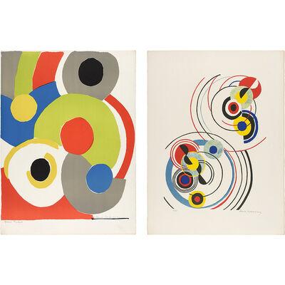 Sonia Delaunay, 'COMPOSITIONS', circa 1970