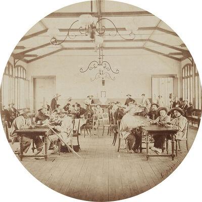 Charles Nègre, 'Recreation Hall (or Salon de Cafe), Vincennes Imperial Asylum', 1859/1859