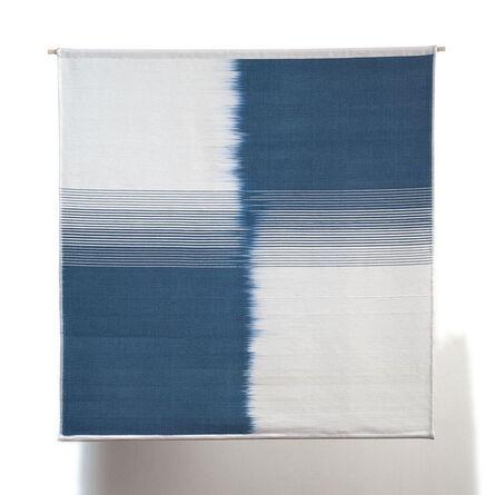 Ethel Stein, 'Blue & White Shift', 2009
